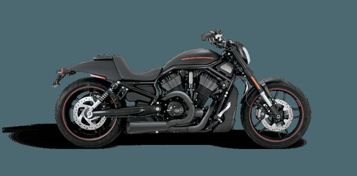 US-Style Leende Harley Davidsons